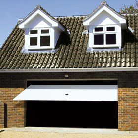 Garage door installation - Birmingham, West Midlands, Solihull - Allstyle Door & Gate Services Ltd - Double garage doors open