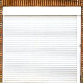 Roller shutter garage door - Birmingham, West Midlands, Solihull - Allstyle Door & Gate Services Ltd - Garage door services