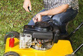 Horticultural equipment servicing