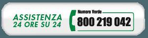 assistenza telefonica 24 ore su 24 banner
