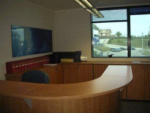 reception dello studio legale