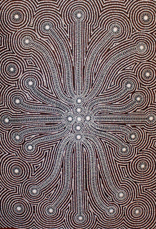 Peter Mbitjana Aboriginal Art for sale