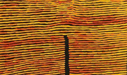 Ronnie Tjampitjinpa Aboriginal Artist