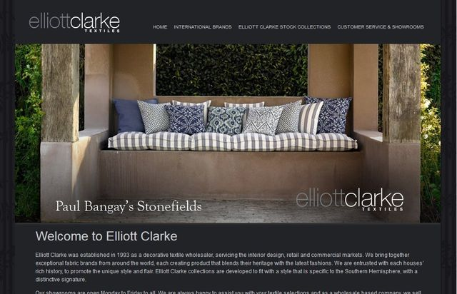 Elliott Clarke Fabric