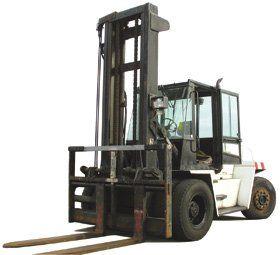 Forklift training - Slough, Windsor, UK - John Gibson Training - White Forklift