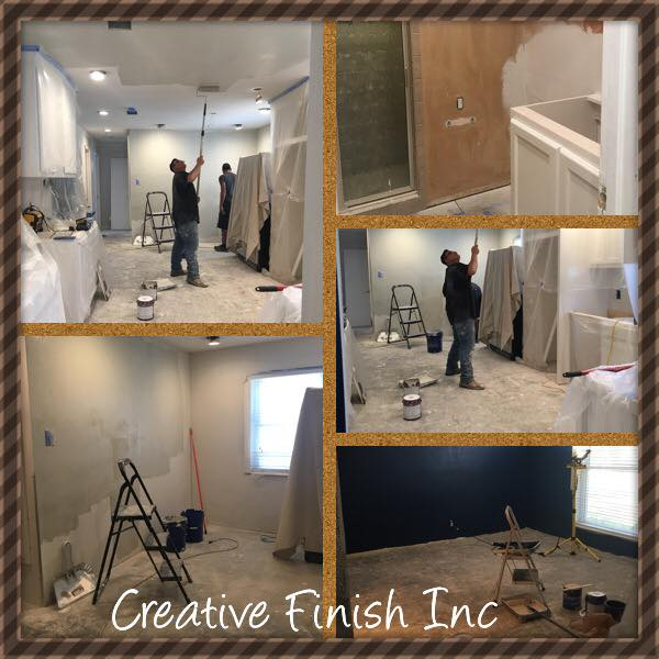Professional Painting In Midland Odessa TX Creative Finish - Bathroom remodel odessa tx