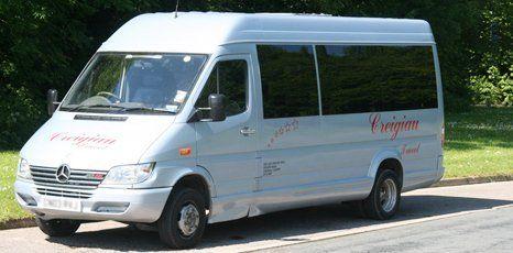 Executive minibus exterior