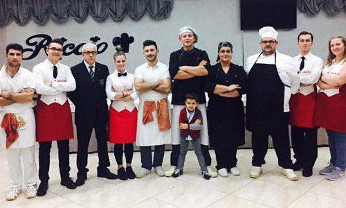 Chef e personale del Riccio Pizza e Restaurant a Santa Maria a Vico (CE)