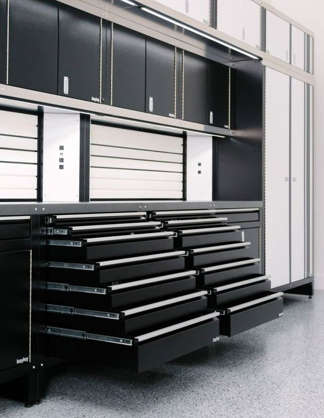 Steel Garage Storage Cabinets Metal, Custom Garage Storage