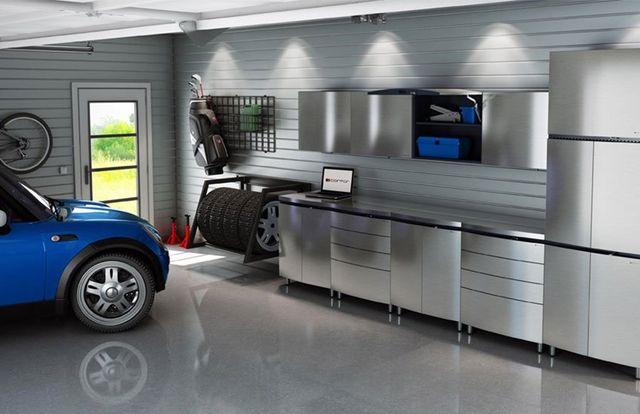 Custom Metal Garage Storage Cabinets