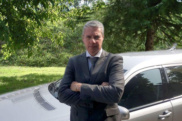 Luca Ferrari responsabile dell'agenzia di onoranze funebri