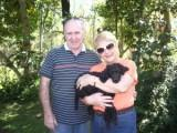 nice couple with Poodle