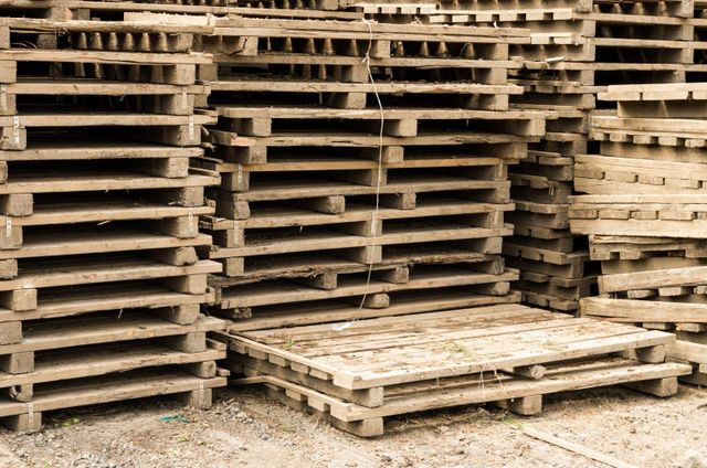 New pallets in Auckland