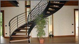 scala legno e ferro