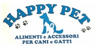 ALIMENTI E ACCESSORI PER ANIMALI HAPPY PET LOGO