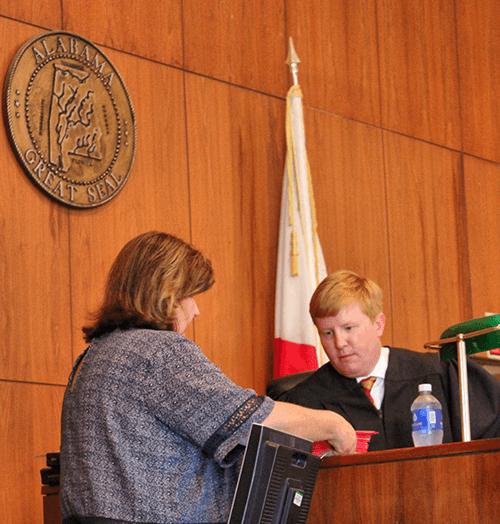 City of Monroeville Alabama Municipal Court Clerk Pat Bowen