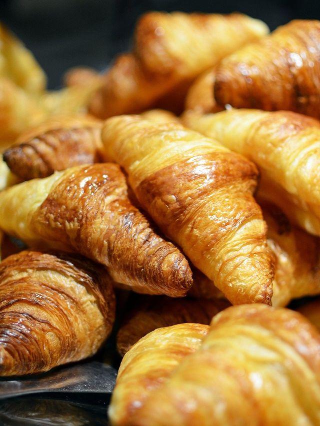 mucchio di croissant