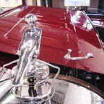 This beautiful Adonis and radiator cap were refinished after fixing the flaws