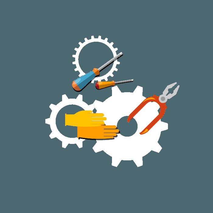 icona strumenti di lavoro