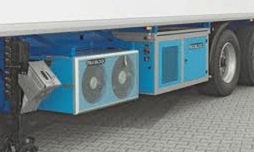 Mobile air conditioning lorry