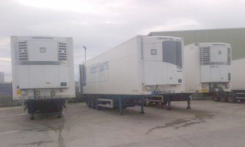Mobile refrigeration units