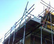 Commercial scaffolding work