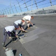 TrackBond50 Racetrack Repairing