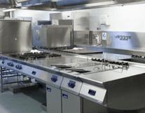cucina di un ristorante