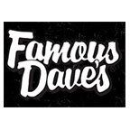 Famous Daves BBQ catering lunch delivered by Catering216.com