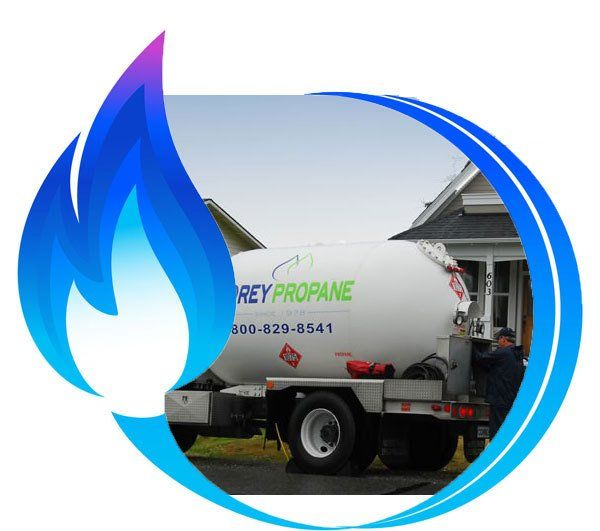 Propane Delivery on Whidbey Island and Skagit County