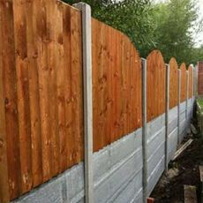 fencing steep inclines