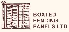 Boxted Fencing Panels Limited logo