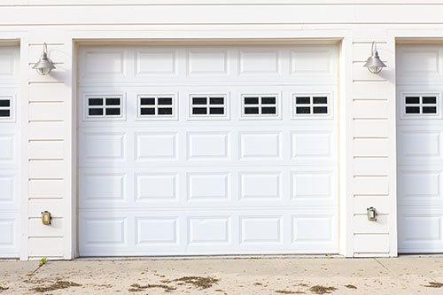 Garage doors in Coromandel