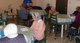 sala da pranzo alla casa di riposo