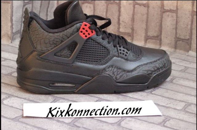 premium selection dac89 279c8 Air Jordan 4 (IV) 3Lab4 Black Infrared