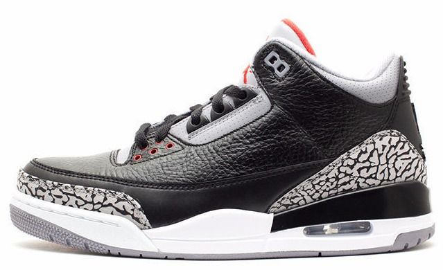 1565200525a1a0 Air Jordan 3 (III) Black Cement