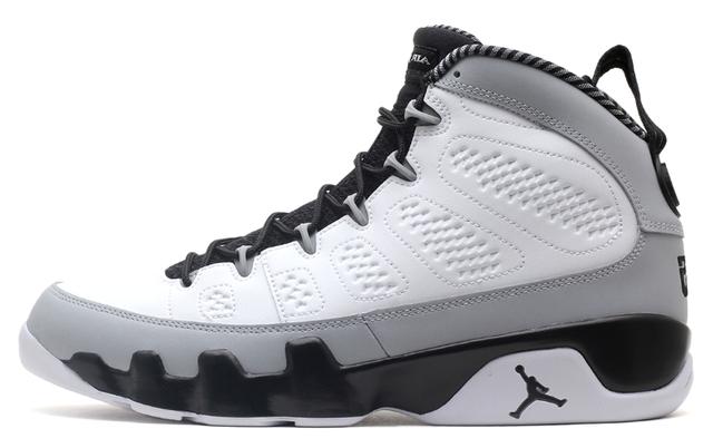a5e2ec47e64 Nike Air Jordan 9 (IX) Baron. Air Jordan 9 Barons. Color: White/Black-Wolf  Grey. Style Code: 302370-106