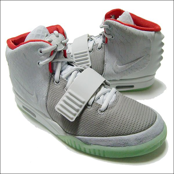 finest selection df17e fcc59 Nike Air Yeezy 2 Pure Platinum Nike Air Yeezy 2 NRG Colorway  wolf grey Pure  platinum style code  508214 010 100% Authentic !