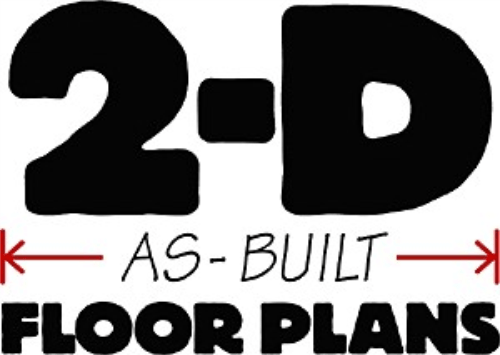2 D As Built Floor Plans