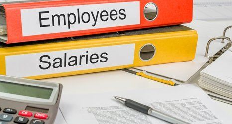 files of employees and salaries
