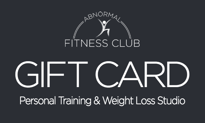 Gift Card for gym memberhsip and workouts