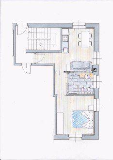 cartina dell'appartamento Eolo