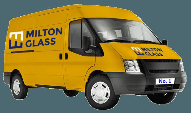 Milton Glass Supplies van