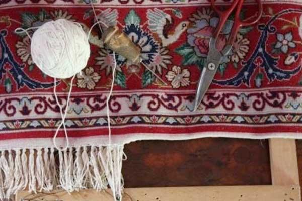 strumenti di moquette e cucito a Mondo d'arte Perugia