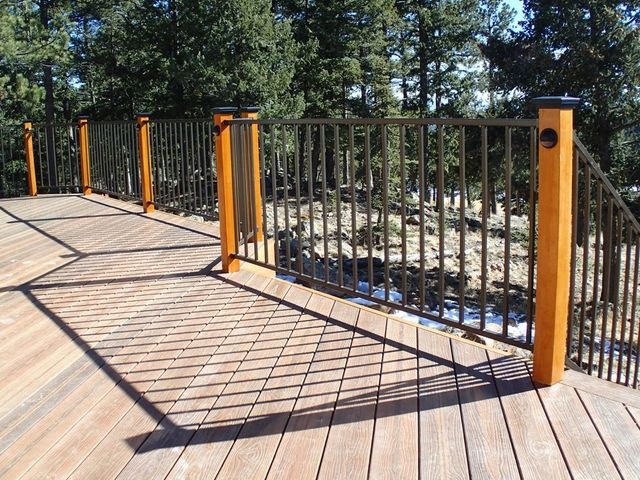 Railings denver co jak decks llc