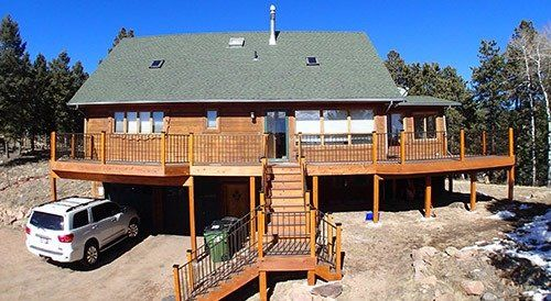 Deck designed by experts after consultation in Denver, CO
