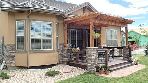 Custom built pergolas by experts in Denver, CO