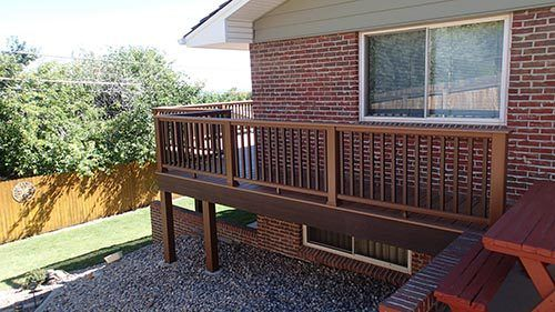 Custom built porches by experts in Denver, CO