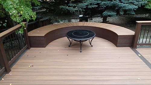 Custom deck with patio covers built by experts in Denver, CO