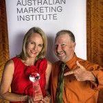 Vie marketing showing the award